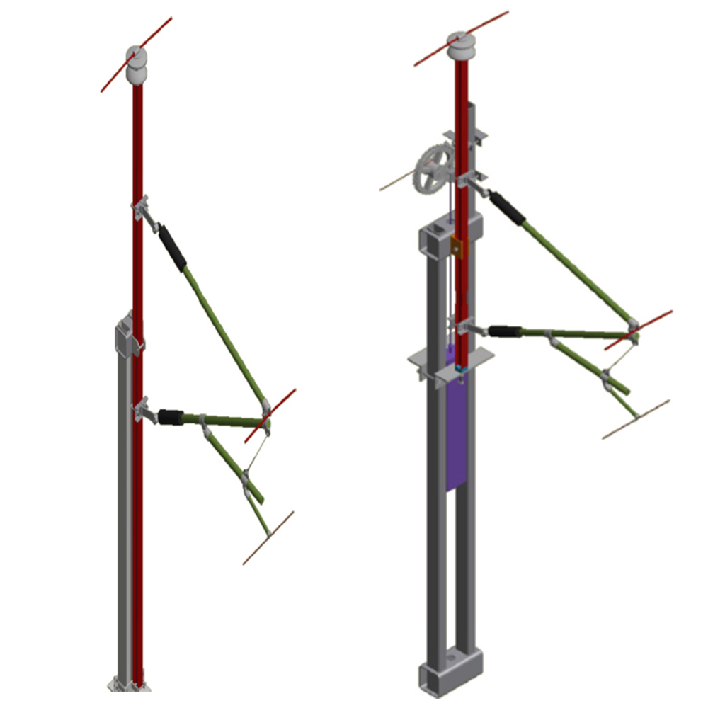 KRUCH in the media: Innovative, flexible catenary mast